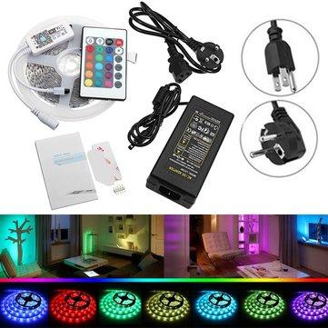 DC12V 5M SMD5050 RGBW Non-Waterproof Smart Wifi Alexa Phone APP Control LED Strip Lights Kit
