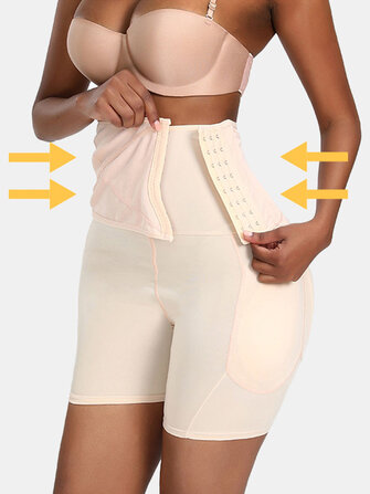 Women Abdomen Control Hip Lifting Body Shaping Panty Shapewear for sale in Litecoin with Fast and Free Shipping on Gipsybee.com
