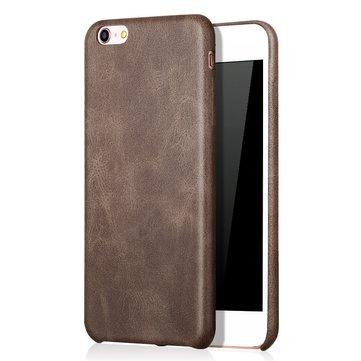 Bakeey ™ Retro Soft PU Lær Ultra Tynn Støtdempende Veske Bakdeksel For iPhone 6Plus 6sPlus 5,5 Tommer