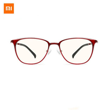Xiaomi Mijia Anti Blue Glasses UV Fatigue Proof Eye Protector Xiaomi Mi Home 40 pencent Anti Blue Ray Protective Goggles Glasses RED Coupon Code and price! - $13
