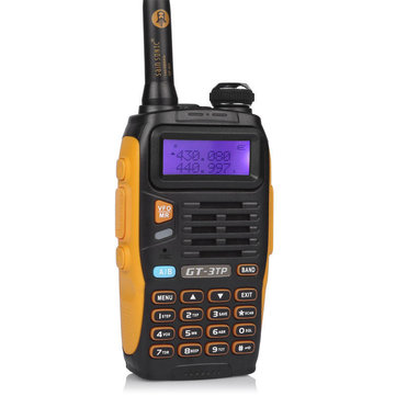 Baofeng GT-3TP 128 Channels 136-174/400-520MHz 3-6M 8W High Power Dual Band Two-way Radio Walkie Talkie