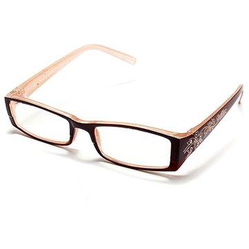 Tawny महिला हीरा फूल फ्रेम Presbyopic पढ़ना चश्मा चश्मा 1.0 1.5 2.0 2.5 3.0 3.5 4.0