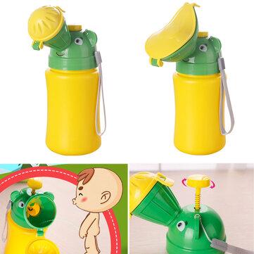 500ML Portátil Bebé Niño Urinario Mini Coche Viaje Inodoro Niño Niña Kid Potty Entrenamiento Micción