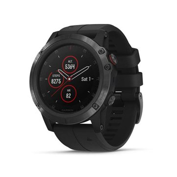 GARMIN Fenix5x Plus-end-pvd-b 51mm Sapphire Multisport GPS Sport Watch Pulse Ox Heart Rate Smart Watch