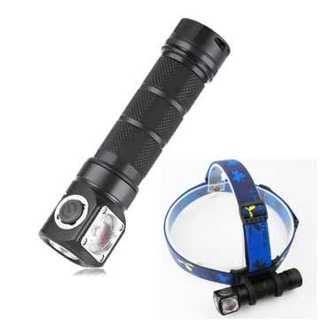 SKILHUNT H03 RC L2 U4 1200LM NW/CW Magnetic Charging LED Flashlight Outdoor Headlamp Headlight