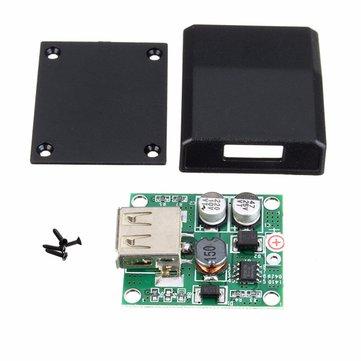इलेक्ट्रॉनिक उत्पादन के लिए DIY 5V 2A वोल्टेज नियामक जंक्शन बॉक्स सौर पैनल चार्जर विशेष किट