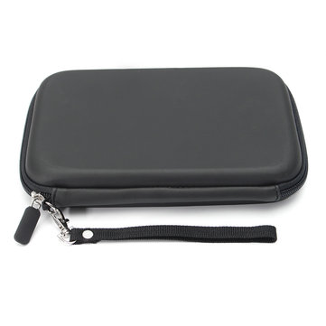 7 Inch PU Leather Carry Case Cover Pouch Sat Nav Navigation GPS Holder Bag Earphone