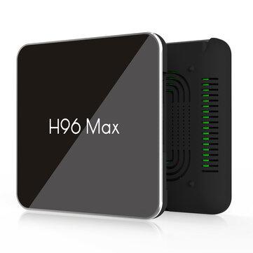 H96 Макс X2 S905X2 4 ГБ оперативной памяти DDR4 64 ГБ ПЗУ 4 К Android 8.1 5 Г Wi-Fi USB3.0 ТВ-КОРОБКА