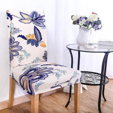 KCASA WX-PP3 elegante flor elástica estiramiento silla asiento de la cubierta del comedor Inicio Boda Decor