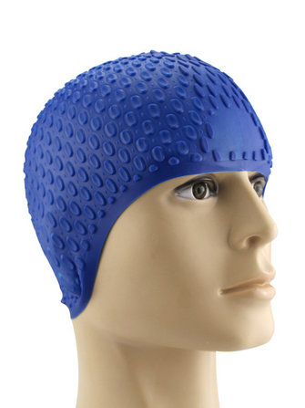 How can I buy Men Women Comfy Stretchy Bubble Swim Cap Waterproof Silicone Caps with Bitcoin