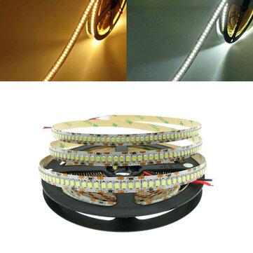 5M alto brillo SMD3528 1200 LED tira de luz flexible Cuerda cinta Lámpara para la decoración del partido en casa DC12V