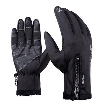 Găng tay màn hình cảm ứng chống nước cho xe máy đi xe đạp trượt tuyết nam SML XL 2XL