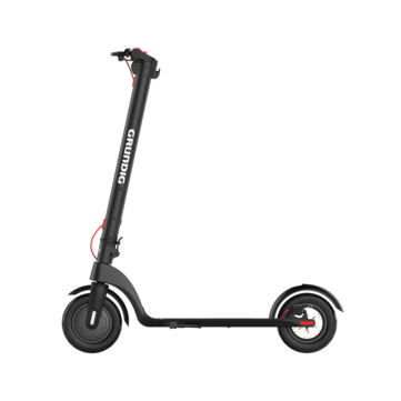 [EU Direct] GRUNDIG X7 Electric Scooter 6.4Ah 36V 350W 10in On_Road Pneumatic Tire 25km_h Max Speed About 20_25km Mileage E_ABS Dics Brake Folding Electric Scooter EU Plug 80Kg Max Load