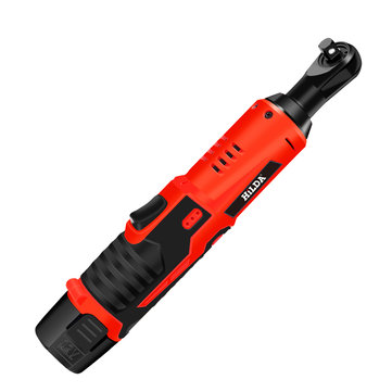 $35.99 for HILDA DC 12V Electric Wrench Kit Cordless Ratchet Wrench with Sockets
