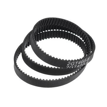 GT2 6mm Closed Loop Timing Belt 2GT-6 280/400/610/852mm Rubber Synchronous Belt