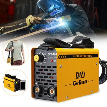 ZX7-200 220V 20-200A IGBT Welding Machine MMA Portable Welding Inverter for Iron & Steel