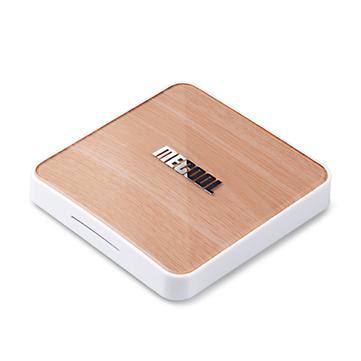 MECOOL KM6 ATV Deluxe Amlogic S905X4 4GB SDRAM 64GB ROM bluetooth 5.0 5G WiFi6 Android 10.0 TV Box Support Google Assistant 4K Youtube Prime Video AV1 4K at 60fps H.265 VP9 1000M LAN Ethernet