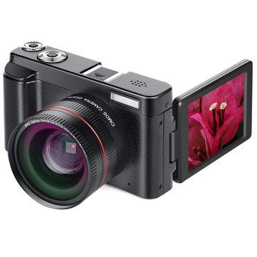 DC101 24MP 16X Zoom Odak 1080P HD 3.0 İnç TFT Makro Lens ile Ekran Dijital SLR Kamera