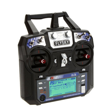 FlySky FS-i6 i6 2.4G 6CH AFHDS RC-radiosändare utan mottagare för FPV RC Drone