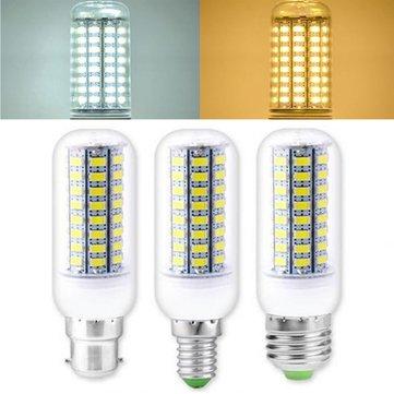 Decorazione AC110 / 220V di illuminazione domestica della lampadina del cereale di 3.5W 5W E27 E14 B22 SMD 4014 LED