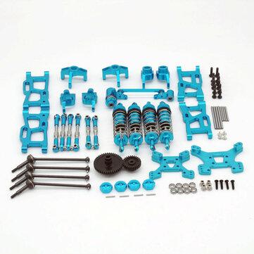 Wltoys 1/14 144001 124019 Upgrade Metal Upgrade Parts With Shock Adapter Set RC Car Parts