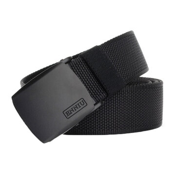 120cm ENNIU TB53 3.8cm Nylon Wrist Belt Zinc Alloy Buckle Heavy Duty Rigger Military Tactical Belt