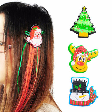 Cute Santa Christmas Xmas hair clip has four different patterns to choose. An excellent cute head accessories to wear in party,  festivals or in daily life. It is a perfect Head wear for Christmas party. for sale in Bitcoin, Litecoin, Ethereum, Bitcoin Cash with the best price and Free Shipping on Gipsybee.com