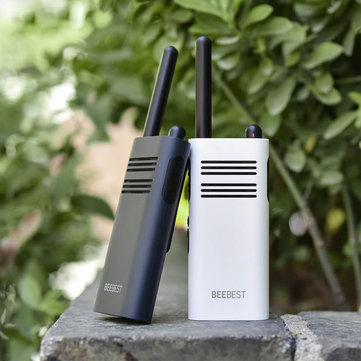 BeeBest A208 Handheld Walkie Talkies 5W 1-5KM Two Way Radio White 2000mAh/ Blue 3350mAh for Outdoor Indoor Building Security From Xiaomi Youpin