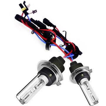 TXVSO8 55W H7 Car Xenon Headlights HID Bulbs Kit 4300K 5000K 6000K 8000K 2PCS