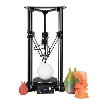 Kit de bricolage pour imprimante Delta3D EZT® T1 Size180 * 300 * 320mm, prise en charge de la taille d'impression Levage intelligent / Changement automatique de filament / Langue multiple en swich