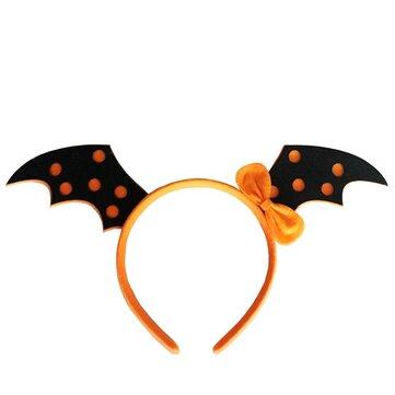 Pumpkin Witch Skull Devil Bat Wings Capelli Banda Halloween Costume Party Gothic Headbrand per Kid