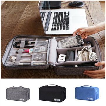 Xmund XD-DY28 Multifunctional Digital Storage Bag Cable Bag USB Cable Charger Earphone Organizer Outdoor Travel