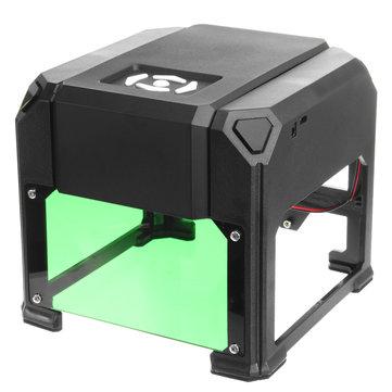 2000 एमडब्ल्यू लेजर एनग्रावर DIY उत्कीर्णन मशीन कटर लोगो प्रिंटर 8x8 सेमी