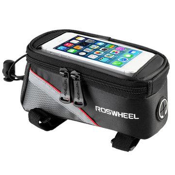 Roswheel bag manubrio telefono touch screen telaio della bicicletta bici per iPhone 7/7 più Samsung
