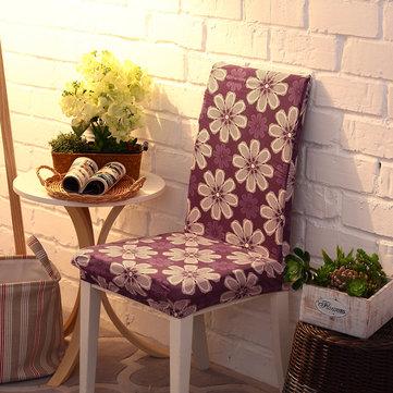 Honana WX-914 Elegante noble spandex elástico estiramiento silla asiento de la cubierta de comedor Decoración de la boda en casa