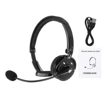 Trucker Headset Bluetooth Wireless Earphone Hands Free Noise Cancellation W Mic Sale Banggood Com