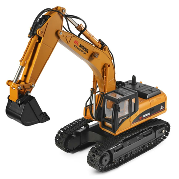 Wltoys 16800 1 or 16 2.4G 8CH RC Excavator Engineering Vehicle with Lighting Sound RTR Model