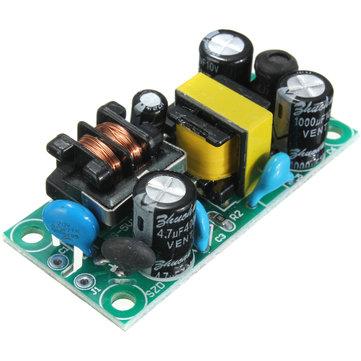 10Pcs 5V 1A AC-DC Power Supply Step Down Module Bare Board