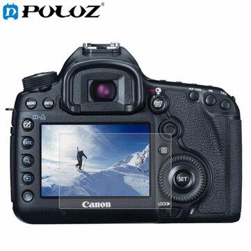 Camera PULUZ 2.5D Cạnh cong 9H Độ cứng Bảo vệ màn hình Kính cường lực cho Canon 5D Mark III