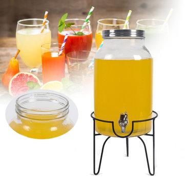 Dispensador de bebidas de 5,5 litros y vaso de desintoxicación de jugo de agua para bebidas Tarro