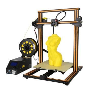 Creality 3D® CR-10S DIY 3D-принтер Набор 300 * 300 * 400 мм Размер печати с осью Z Dual T Болт Род Мотор Детектор нити 1,75 мм 0,4 мм Сопло