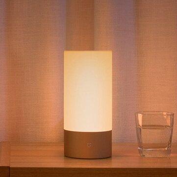 الأصلي Xiaomi Mijia LED الذكية بلوتوث واي فاي التحكم في السرير ضوء الجدول مصباح الشروق الغروب محاكاة