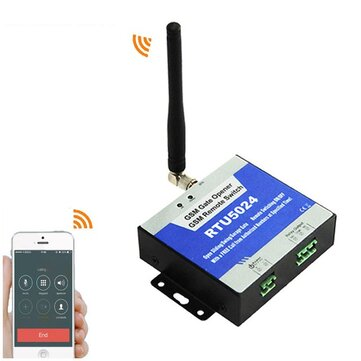 200 Users Home GSM Module Remote Control Access Controller for Electric Door via SMS GSM Gate Opener