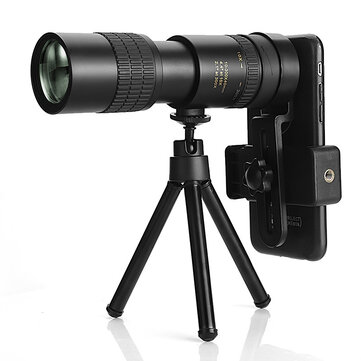 IPRee® 10_300x40 Zoom Telescope Metal Professional HD Monocular Retractable Telescopic for Outdoor Camping Travel
