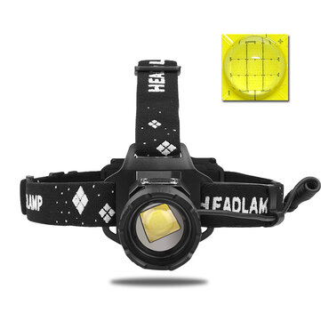 XANES® 2090 XHP99 2800LM Induction Strong LED Headlamp Telescopic Zoom 5-Modes Waterproof Head Light Camping Fishing Working Cycling Headlight