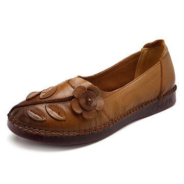 נעלי נשים עור מקורי נוחות Causal Soft