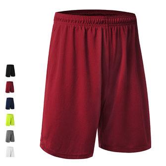 पुरुषों के लिए लूज सांस लेने योग्य बास्केटबाल शॉर्ट्स त्वरित सूखी घुटने की लंबाई खेल पैंट