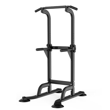 MIKING 4001F Multifunction Power Tower Adjustable Pull Up Bar Gym Strength Training Fitness Dip Stands Pull Up Muscle Workout Equipment Max Load 200kg