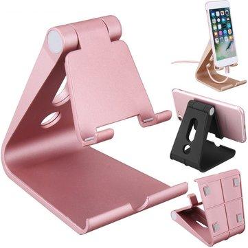 Universal Anti-slip Adjustable Desktop Phone Stand Holder Bracket for iPhone Xiaomi Tablet Mobile Phone
