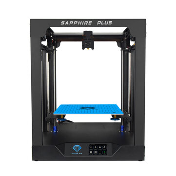 TWO TREES Sapphire Plus Core XY 300+300+350mm Printing Size 3D Printer With Full Metal Body or Double Linear Guide or BMG Extruder or Power Resume or Filament Detect or Auto Leveling DIY 3D Printer Kit